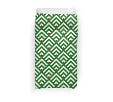 Bless our mountain greenery home Duvet Cover