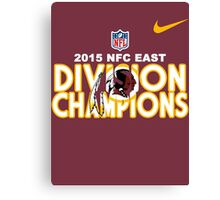 Washington Redskins - 2015 NFC East Champions Canvas Print