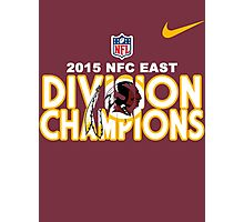 Washington Redskins - 2015 NFC East Champions Photographic Print