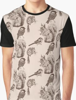 Woodland Wildlife Graphic T-Shirt