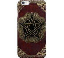 Pentacle Spellbook iPhone Case/Skin
