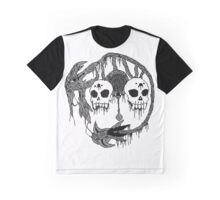 Ruins Guardian (Black and White) Graphic T-Shirt