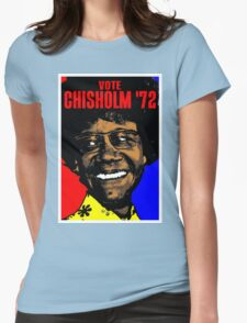 VOTE CHISHOLM '72 Womens Fitted T-Shirt
