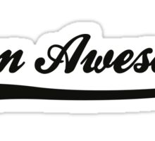 Team awesome! Sticker