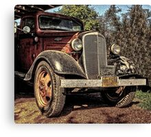 Cool 1936 Chevy Truck Canvas Print