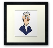 Doctor Who - Peter Capaldi Framed Print