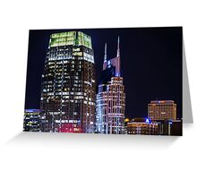 Music City Titans Greeting Card
