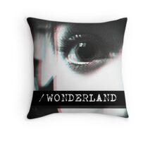 Trip to Wonderland Throw Pillow
