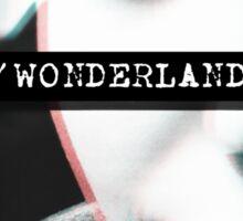 Trip to Wonderland Sticker