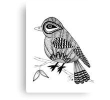 'Beaker' the bird Canvas Print