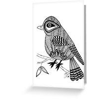 'Beaker' the bird Greeting Card