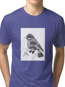 'Beaker' the bird Tri-blend T-Shirt