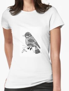 'Beaker' the bird Womens Fitted T-Shirt