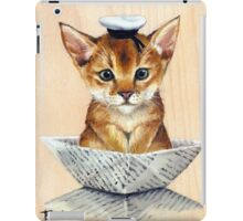 Sailor Cat iPad Case/Skin