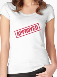 Approved! Women's Fitted Scoop T-Shirt