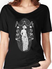Day of the Dead T-Shirt by Allie Hartley  Women's Relaxed Fit T-Shirt