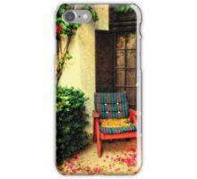"""""""A Private Courtyard"""" iPhone Case/Skin"""