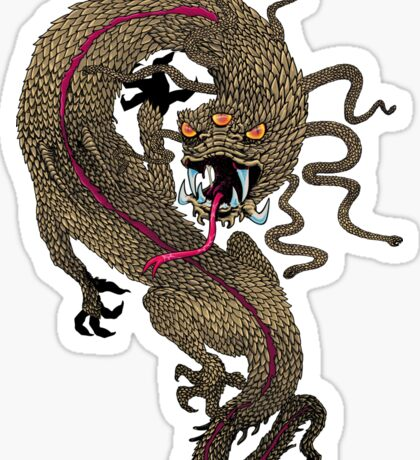 Serpent Dragon  Sticker