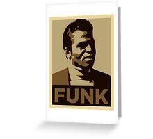 Funk Music Greeting Card