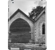 Greendale Church, An unfinished Life iPad Case/Skin