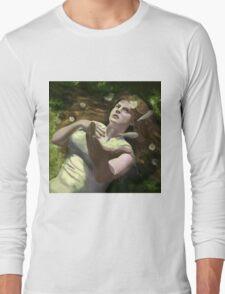 He Loves Me Not Long Sleeve T-Shirt