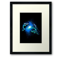 Space Illusionist Framed Print