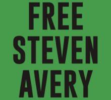 Free Steven Avery Kids Tee