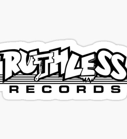 Ruthless Records Sticker