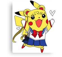 Sailor Pikachu Canvas Print