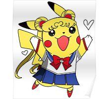 Sailor Pikachu Poster