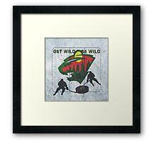 Get Wild Be wild Framed Print