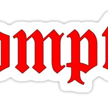 Bompton Sticker