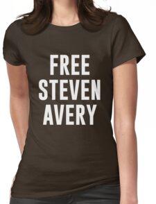 Free Steven Avery (white font) T-Shirt