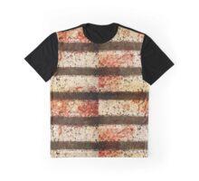 Blood Splatter Pavement Graphic T-Shirt