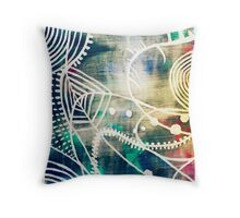Abstract Study Throw Pillow