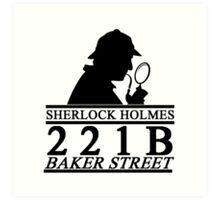 Sherlock Holmes Address 1 Art Print