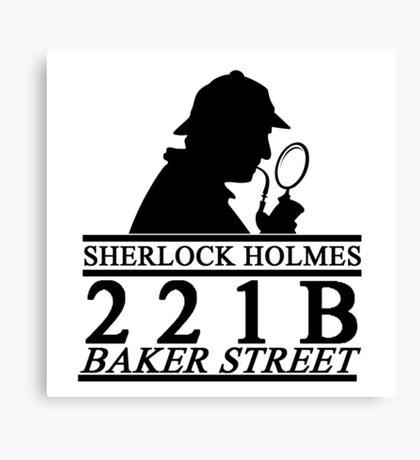 Sherlock Holmes Address 1 Canvas Print