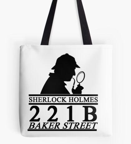 Sherlock Holmes Address 1 Tote Bag