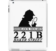 Sherlock Holmes Address 1 iPad Case/Skin