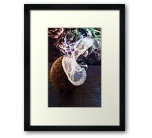 Cocosmoke Framed Print