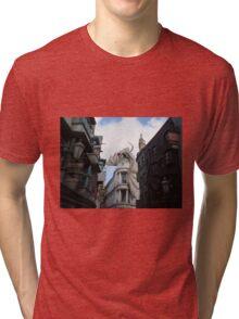 Diagon Alley Dragon Tri-blend T-Shirt