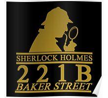 Sherlock Holmes Address 2 Poster