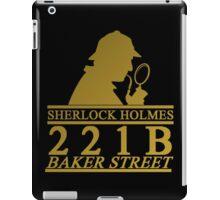 Sherlock Holmes Address 2 iPad Case/Skin