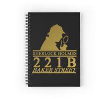 Sherlock Holmes Address 2 Spiral Notebook