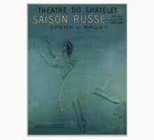 Vintage poster - Saison Russe Baby Tee