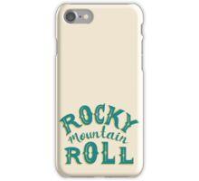 ROCK MTN ROLL iPhone Case/Skin