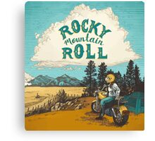 ROCK MTN ROLL Canvas Print