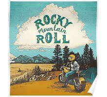 ROCK MTN ROLL Poster