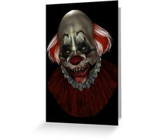 Coulrophobia Version 4  Greeting Card
