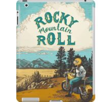 ROCK MTN ROLL iPad Case/Skin